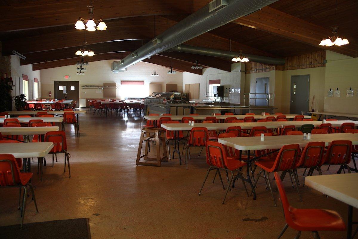 Dining Hall Winding Creek Camp