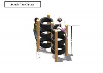 Rec area - Double Tire Climber