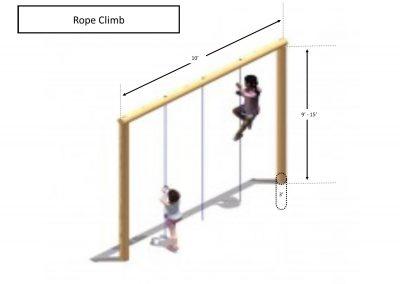 Rec area - Rope Climb