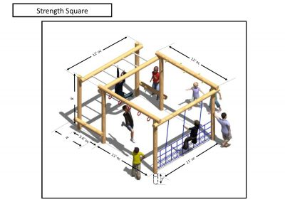 Rec area - Strength Square